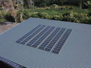 39kW off grid install for Kona Rainforest Coffee farm